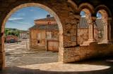 Romanesque Arcade - Rejas de San Esteban