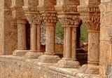 Romanesque Columns and Capitals - Berzosa