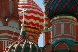 Closeup of St. Basil's Cathedral - Moscow