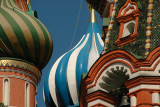 Detail of St. Basil's Cathedral - Moscow
