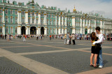 Palace Square and Ermitage - St. Petersburg