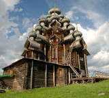 Wooden Church (1714) in Kizhi Island