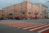 Crosswalk - Nevski St., St. Petersburg