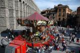 Merry-go-round - Azoguejo square