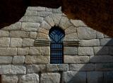 Visigothic window - Sta. María de Melque