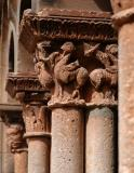 Romanesque capitals and columns - Jaramillo