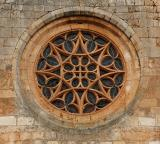 Gothic rose window - Collegiate of Covarrubias