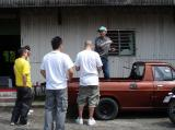 The director giving instructions
