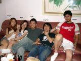 Kayun, Kaori, Luke, Long Yan, and Hiyoshi - what a great group of friends!