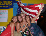 American Independence Day at Big Wave Daves