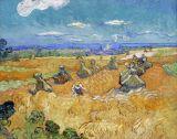 Wheat Fields With Reaper
