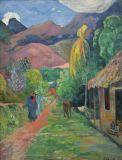 Street In Tahiti