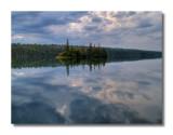 Tobin Harbor Reflection