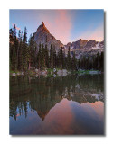 Sunset at Mirror Lake