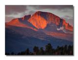 Longs Peak Alpenglow