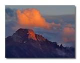 Last Light on Longs Peak