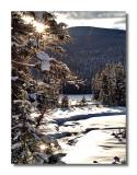 Winter in the Kaweneeche Valley