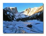 Dream Lake in Winter