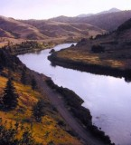Missouri River in Montana, 1971