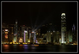 Central at night, Hong Kong