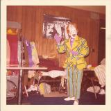 Bobby Kaye in clown alley