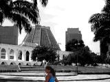 girl in catedral