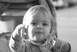 the little one in bw