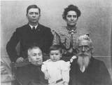 Joe & Byrdie with His Parents & Son Jim.jpg