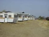 The caravans at Kereyou Lodge Hotel, Awash NP