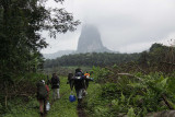 Walking in to the camp, Cao Grande, São Tomé