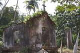 Ancient ruined chapel at Ribeira Peixe, São Tomé