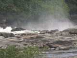 Rocks and rapids on the Ogoué River, Gabon