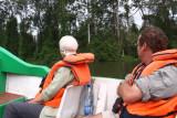Onboard the Gavilo Lodge boat, Gabon