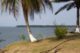 View of Nkomi lagoon from Mission Sainte Anne, Gabon