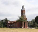 Mission Sainte Anne church, Odimba, Gabon