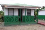 One of the Gavilo Lodge bungalows, Loango NP, Gabon