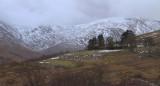 Edentaggart farm and upper Glen Luss