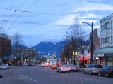 Evening on Main Street, Vancouver