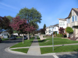 Mons Drive at Normandy Drive, East Vancouver
