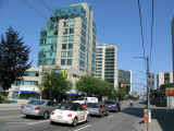 West Broadway at Willow Street, Vancouver