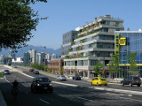 Cambie Rise on a hot Sunday in June