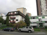 Apartment buildings on Chesterfield Avenue, North Vancouver