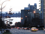 Evening on Lonsdale, North Vancouver