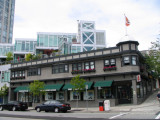A restored heritage building on Lower Lonsdale, North Vancouver