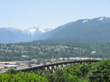 North Vancouver and the Ironworkers Memorial Bridge
