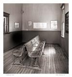 R.R. waiting room
