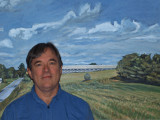 Mike and Maine Landscape Art