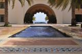 Al Husn Hotel, courtyard