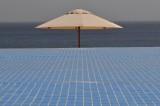 Al Husn Hotel Infinity pool, Sun shade