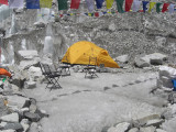 Everest Base Camp - No one at home